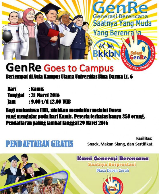 GenRe BKKBN Goes to Campus