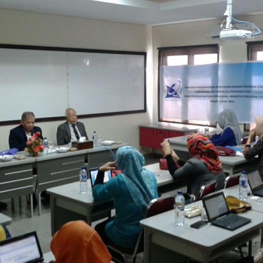 Workshop Pendampingan Penyusunan Borang Prodi dan Borang Unit Pengelola Prodi