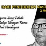 Penyelenggaraan Upacara Bendera Peringatan Hari Pendidikan Nasional