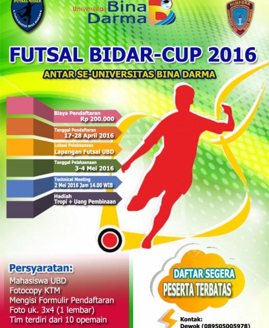 Futsal Bidar 2016