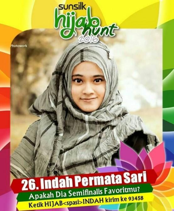 Voting Finalis Hijab Hunt – Indah Permata Sari (Teknik Sipil)