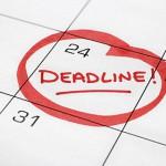 Deadline Pendaftaran Ujian Proposal dan Ujian Tugas Akhir