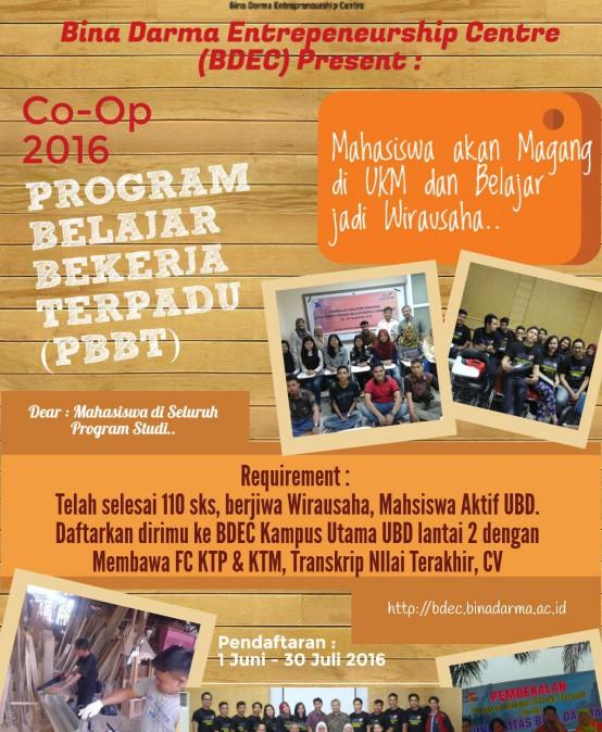 Program Belajar Bekerja Terpadu (PBBT) – BDEC