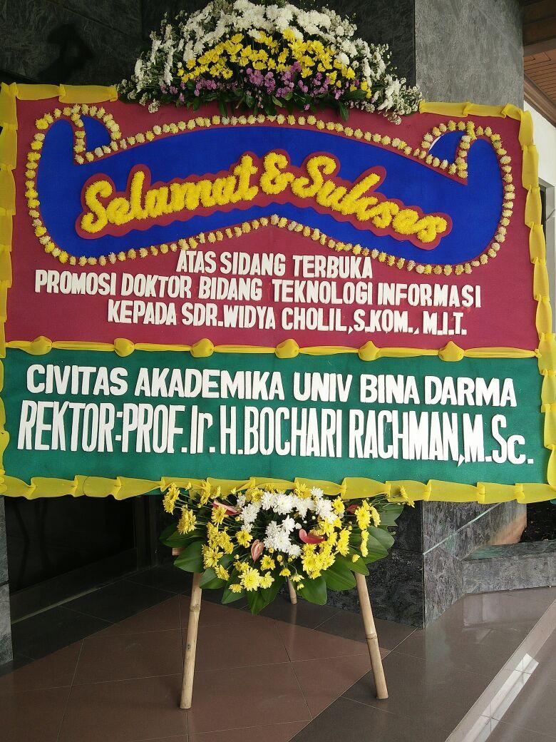 Ucapan Selamat Atas Keberhasilan Mencapai Gelar Doktor Portal Web Ubd Universitas Bina Darma Palembang Indonesia